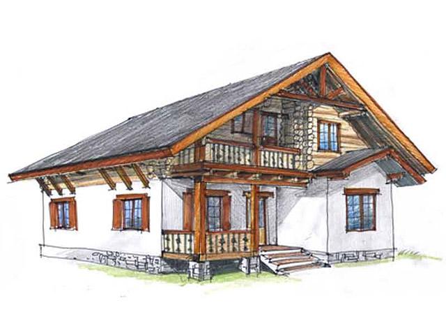 Проекты домов в альпийском стиле